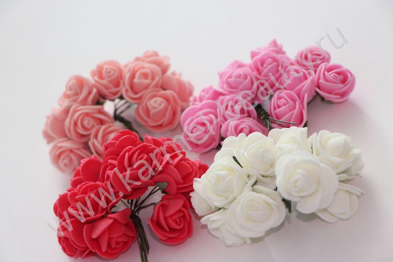 Купить шпильки для волос с цветами